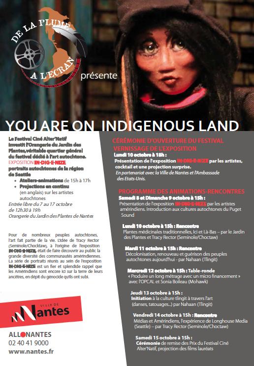 You are on Indigenous land : un espace dédié à l\'art autochtone ...